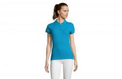 SOL'S passion ženska polo majica sa kratkim rukavima aqua XXL ( 311.338.59.XXL )