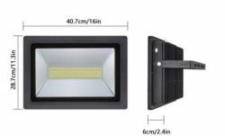 Spectra LED reflektor 150W LRSMDA3-150 6500K CRNI ( 112-1009 )