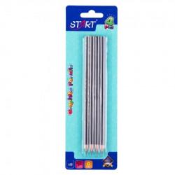 Start grafitne olovke stars 4 kom na blisteru na blisteru start ( STR6189 )