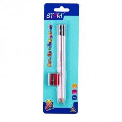 Start olovke grafitne pearl 2kom i zarezaČ na blisteru start ( STR6080 )
