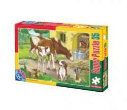 Super Puzzle 35PCS ANIMALS 02 ( 07/60198-02 )