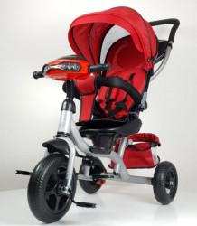 Tricikl Guralica Model 433 sa svetlosnim i zvučnim efektima - Crvena