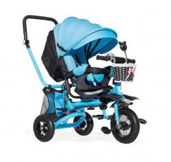 Tricikl Playtime 413 RELAX sa rotirajućim sedištem - Plavi