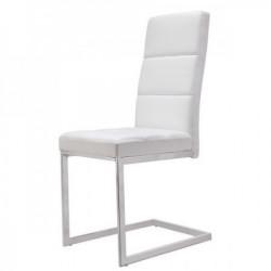 Trpezarijska stolica B2191 Noge hrom/ bela 430x500x1030mm ( 775-071 )