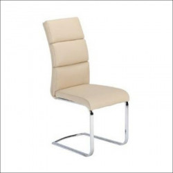 Trpezarijska stolica X-1105 Noge hrom /Krem ( 779-013 )