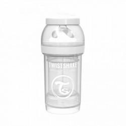 Twistshake flašica za bebe 180ml white ( TS78006 )
