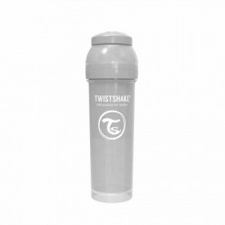 Twistshake flaŠica za bebe 330 ml pastel grey ( TS78266 )