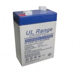 Ultracell žele akumulator Ultracell 2,8 Ah ( 6V/2,8Ah-Ultracell )