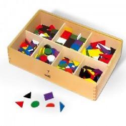 Viga Drveni geometrijski oblici u kutiji ( 58870 )