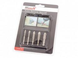Womax set za vađenje zalomljenih šrafova 5kom ( 0546352 )