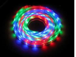XLed Led traka RGB 60 Led dioda/m IP20 bez zastite 14.4W/m 10-12lm 5m kotur ( D-5050RGB-60 )