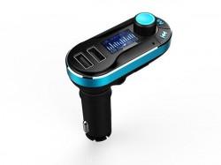 XWave BT66 FM transmiter Blue LCD dualUSB/MicroSD/daljinac ( FMTBT66 )