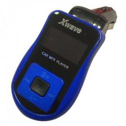 Xwave FM transmiter BT64 blue SD/USB + daljinski