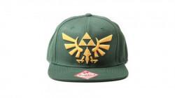 Zelda - Twilight Princess, Snapback With Golden Triforce Logo ( 036082 )