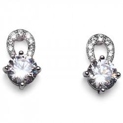 Ženske Oliver Weber Gleam Crystal mindjuše sa swarovski belim kristalom