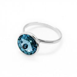 Ženski Victoria Cruz Basic M Aquamarine Prsten Sa Swarovski Plavim Kristalom