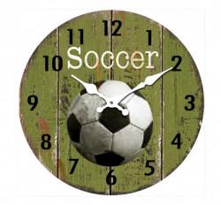 Zidni sat Soccer 30cm ( 203271 )