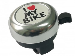 Zvono I LOVE MY BIKE hrom ( 260045 )