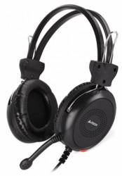 A4Tech gejmerske slusalice sa mikrofonom, 40mm/32ohm, black 2x3.5mm A4-HS-30