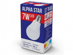 Alpha Star E27 7W 3000K toplo bela sijalica