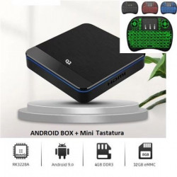 Android TV BOX Q2 4GB 32GB HDMI Android 9.0 + tastatura ( YT001 )