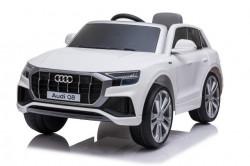 Audi Q8 Licencirani Džip sa kožnim sedištem i mekim gumama - Beli