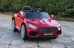Automobil model 253-1 na daljinsko upravljanje + mod za ljuljanje - Metalik crveni