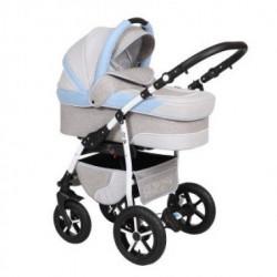Baby Merc Q9/58 Kolica 3u1 - Svetlo plava ( 103409 )