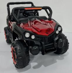 BAGI Exclusive - Auto na akumulator za decu sa funkcijom ljuljanja - Crveni