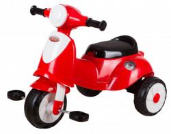 Bambi Tricikl - Motor na pedale za najmlađe model 440 - Crveni