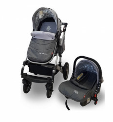 BBO kolica za bebe gs-t106 bbo matrix set - siva ( GS-T106SIVS )