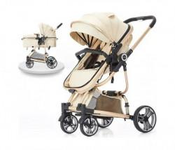 BBO kolica za bebe tiffany - beige ( 618BEIGE )