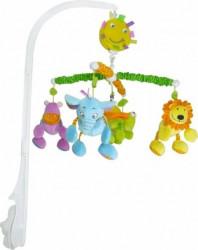 Biba Toys muzička vrteška drugari iz džungle - lux ( A016570 )