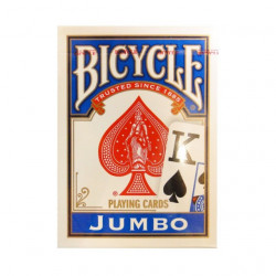 Bicycle Rider Back Jumbo index Poker karte - Plave ( 37826B )