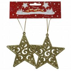 Božićna Zvezda 10 cm 2kom ( 40-602000 )