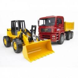 Bruder Kamion MAN sa utovarivačem FR130 ( 027520 )