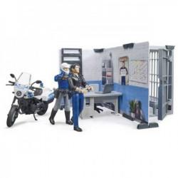 Bruder set sa figurama policijska stanica ( 627324 )