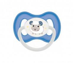 Canpol baby varalica slikonska 0-6m bunny & company symmetric ( 23/268 )