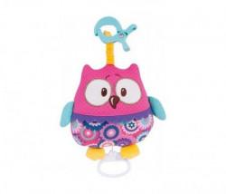 Canpol muzička igračka Forest friends 68/048 - pink owl ( 68/048_pin )