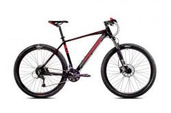 """Capriolo bicikl level 9.4 29""""/27al crno-grafit-crveno 21"""" ( 918530-21 )"""
