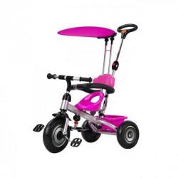 Capriolo tricikl sa drškom i suncobranom pink ( 290090 )
