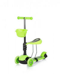 Chipolino trotinet KIDDY green (DSKI01703GR)