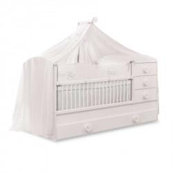Cilek baby cotton produženi krevetac sa fiokom (80x180 cm) ( 20.24.1015.00 )