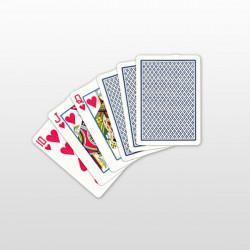 Copag Regular Face Poker Karte 100% plastične - Plave ( 104001334 )