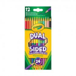 Crayola 12 dvostranih olovaka drvena bojica ( GAP256356 )