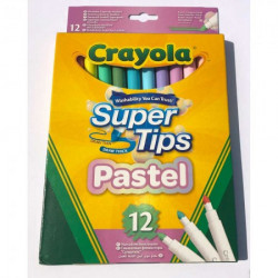 Crayola pastelni markeri supertips 12 kom ( GA256764 )