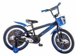 "Dečija bicikla 16"" AZIMUT plavo-crni ( 16011 )"