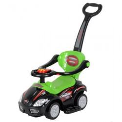 Dečija Mega Car guralica crno-zelena