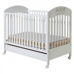 Dečiji krevetić gloria beli fioka ( 094 )