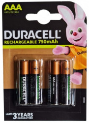 Duracell punjiva AAA 750 mah R3 1/4 ( 750 mah )